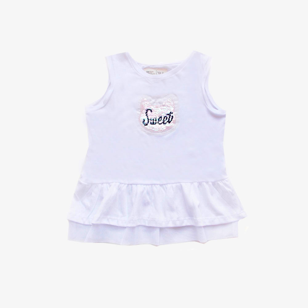 "Musculosa ""Sweet"" - Blanca -"