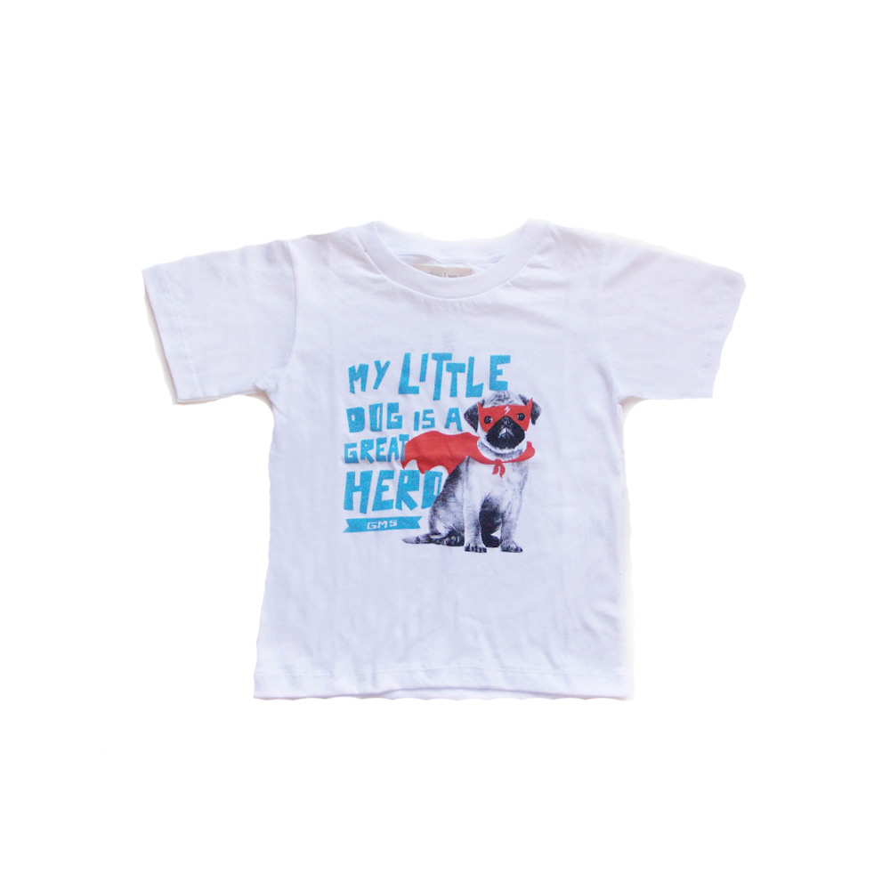 Remera little dog