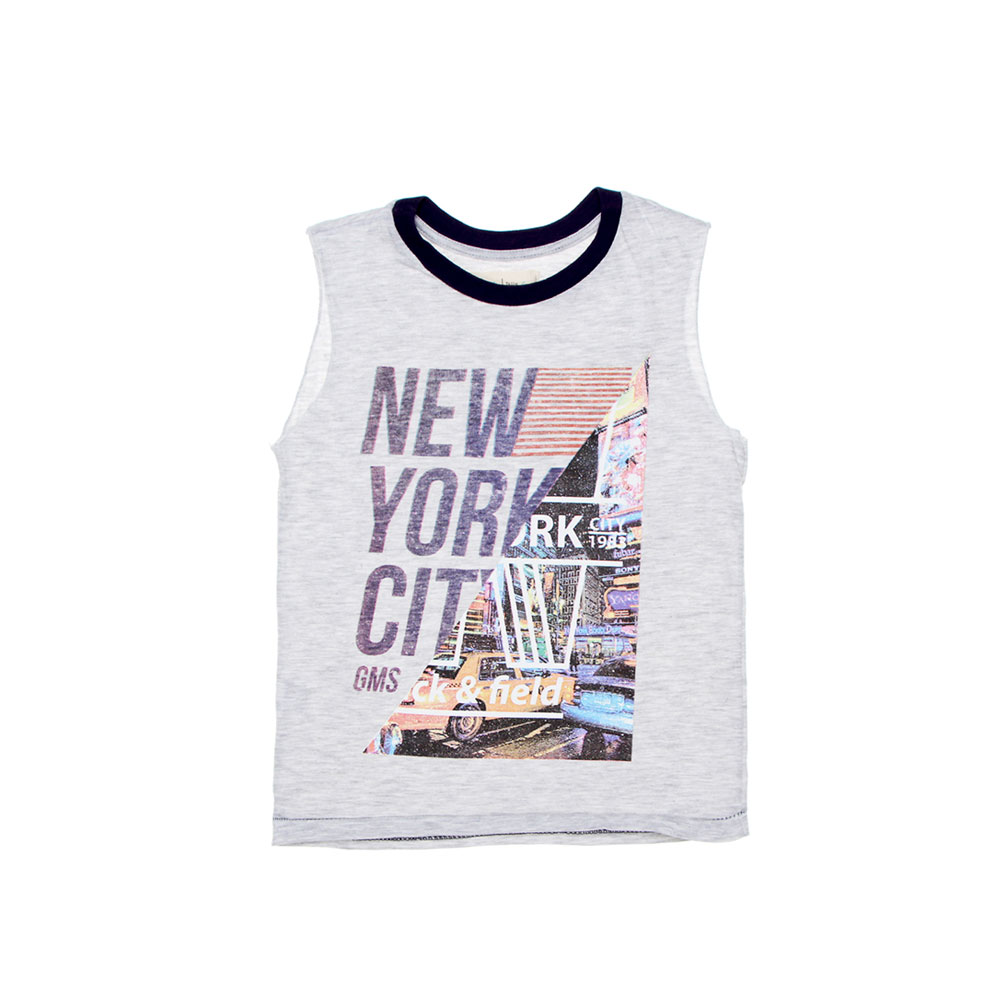 "Musculosa ""New York City"" - Gris -"