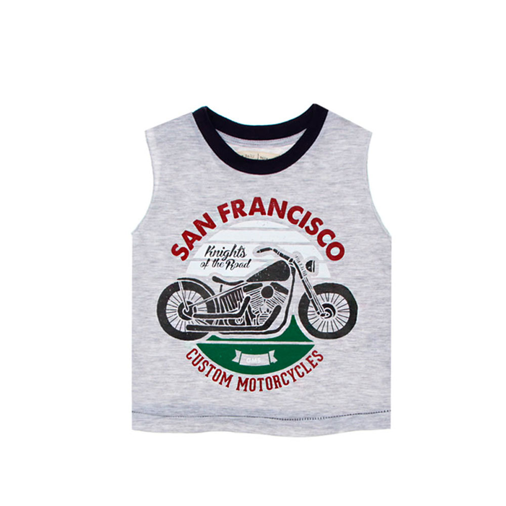 "Musculosa ""San Francisco"" - Gris -"