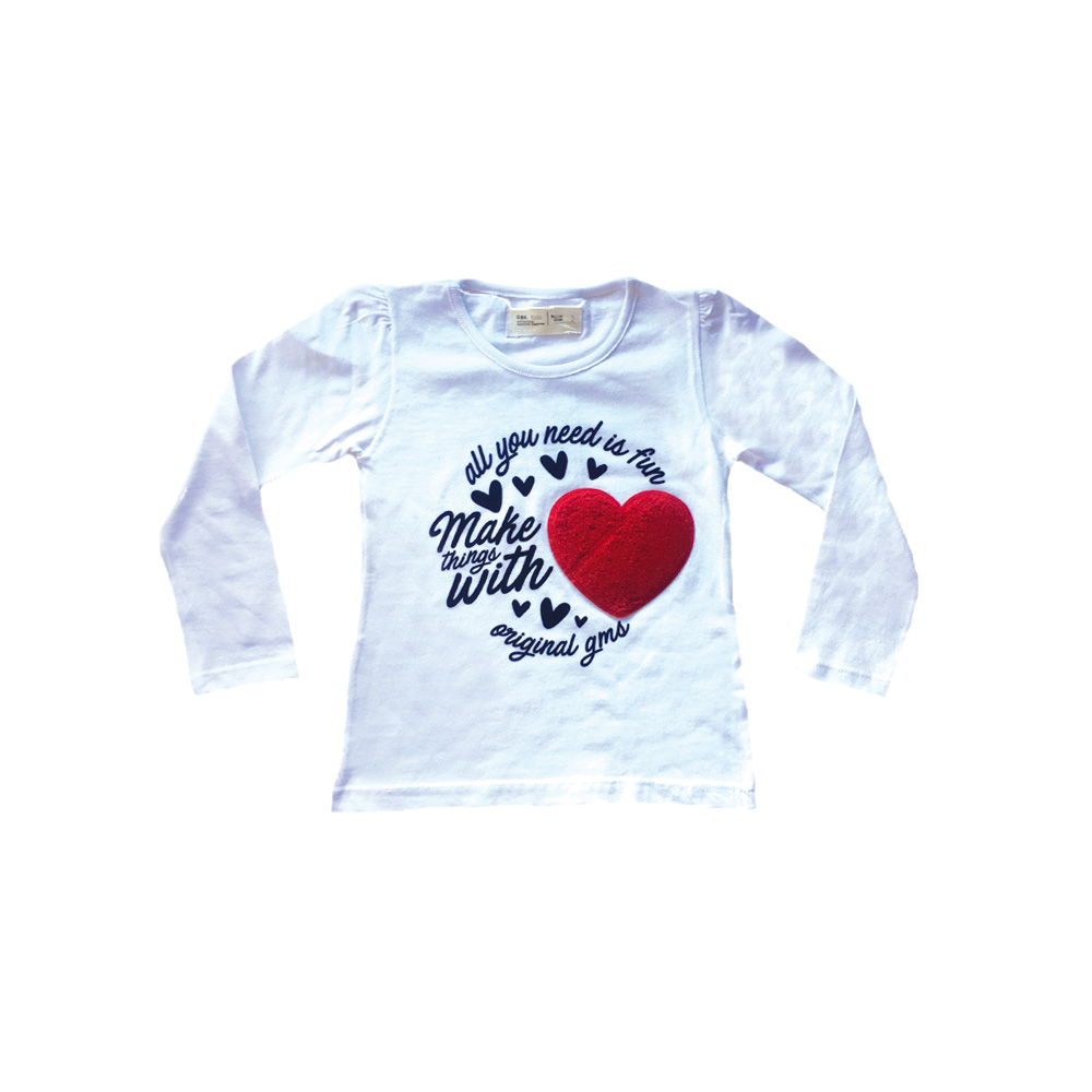 Remera Have Fun Corazon