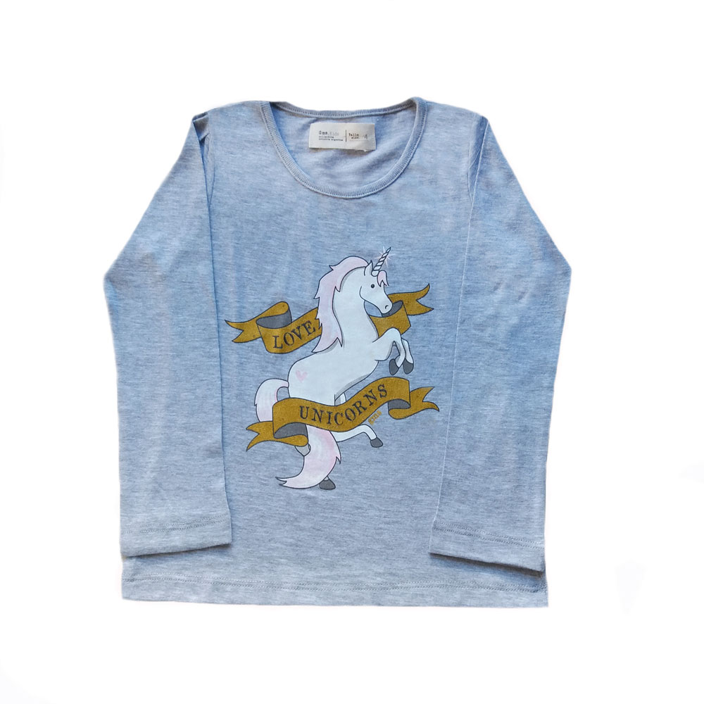 Remera Bolena Unicorn Love