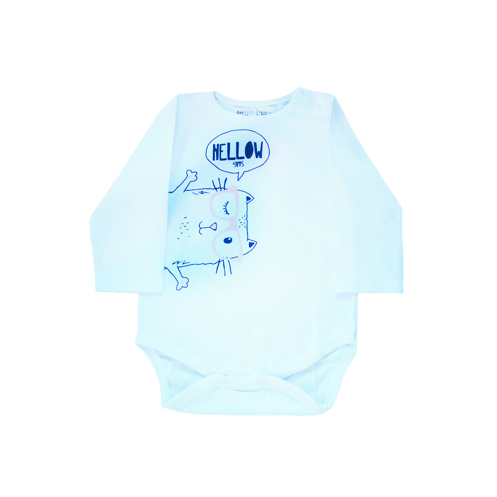 "Body ""Hellow GMS"" -blanco-"
