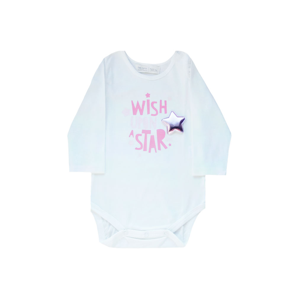 "Body  ""Wish upon a Star"" -blanco-"