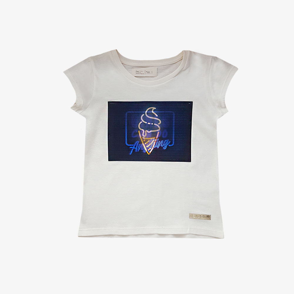 "Remera bolena ""Girls"" -Crudo -"