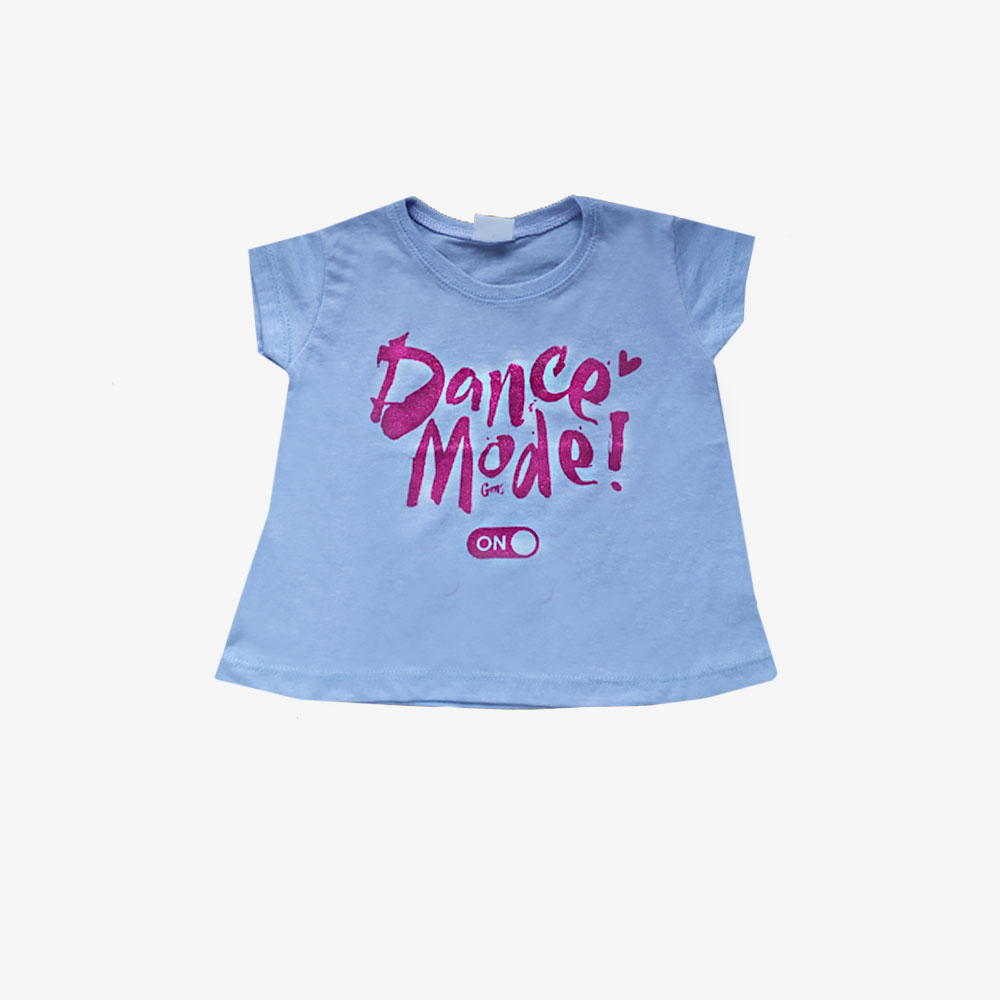 "Remera mini ""Dance mode"" - lila-"