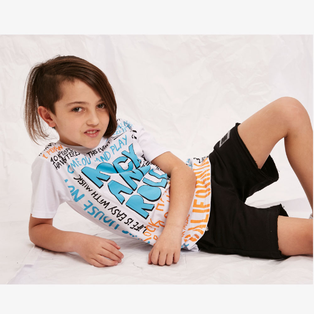"""Remera """"Rock and Roll"""" - Blanca -"""