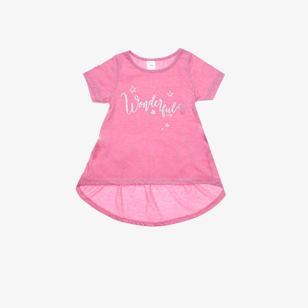 "Remera ""Wonderful"" -Rosa-"
