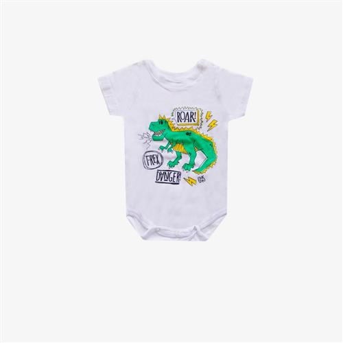 "Body ""Dino Roar"" -Gris y blanco -"