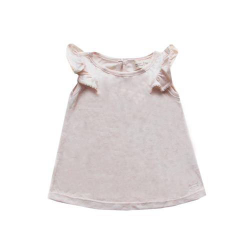 "Musculosa mini ""Voladitos"" - Crudo -"