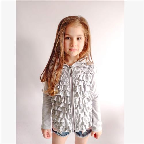 "Campera ""Voladitos"" - Gris -"