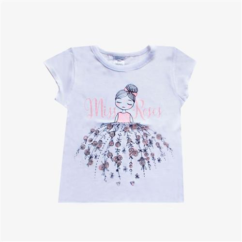 Remera Miss Rosses - Blanca -