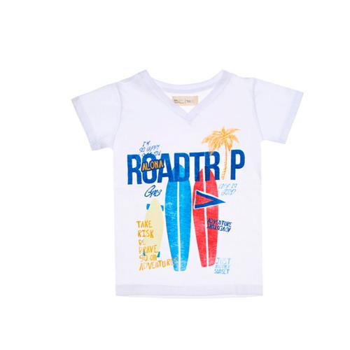 "Remera ""Roadtrip"" - Blanca -"