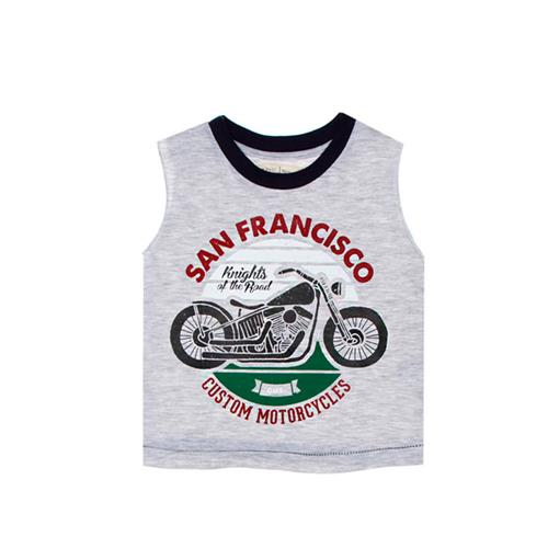 "Musculosa mini ""San Francisco"" - Gris -"
