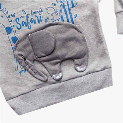 "Buzo  ""Safari"" -Gris-"