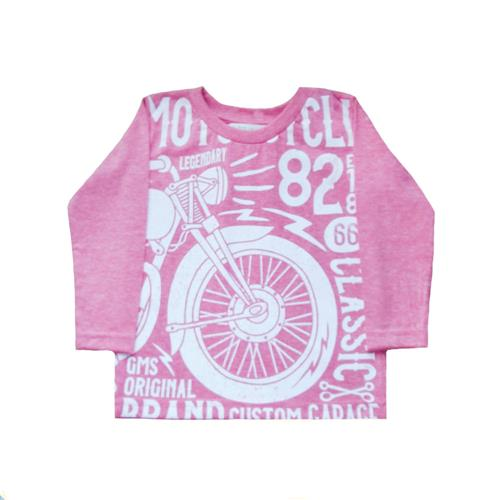 Remera Motocycle rojo