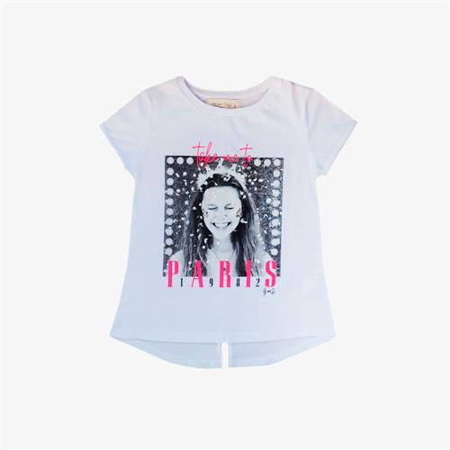 "Remera ""Take me To"" - Blanca -"