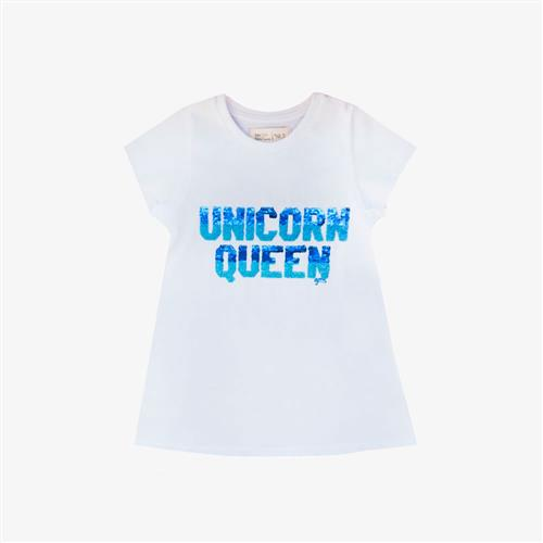 "Vestido ""Unicorn Queen"" -blanco-"
