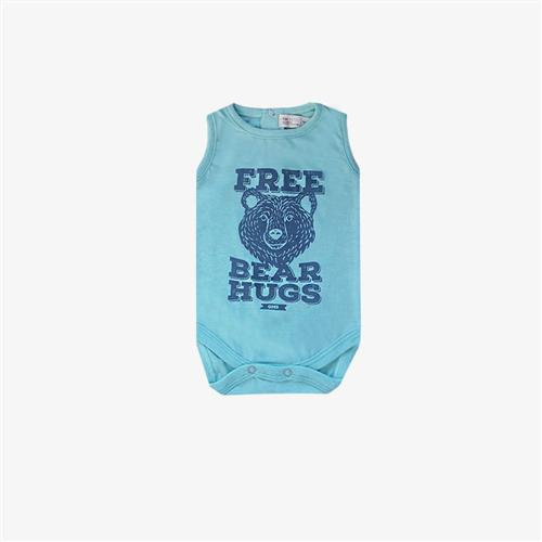 "Body ""Free Bear"" -Verde agua -"