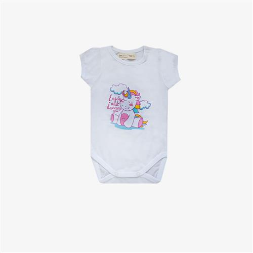 "Body ""Unicorn Enjoy"" - Blanco -"