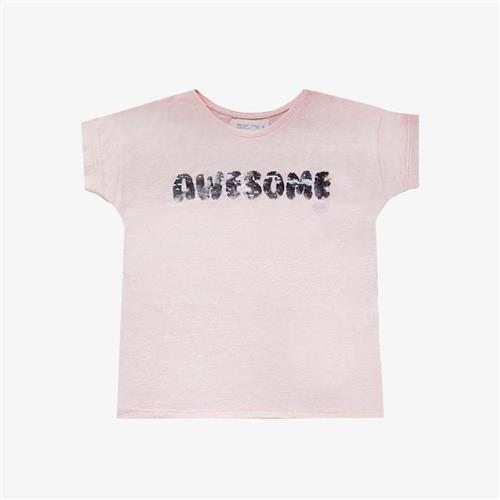 "Remera ""Awesome"" - Rosa -"