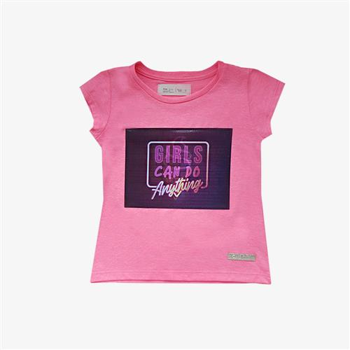 "Remera bolena ""Girls"" -Fucsia -"