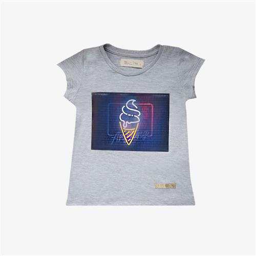 "Remera bolena ""Girls"" -Gris -"