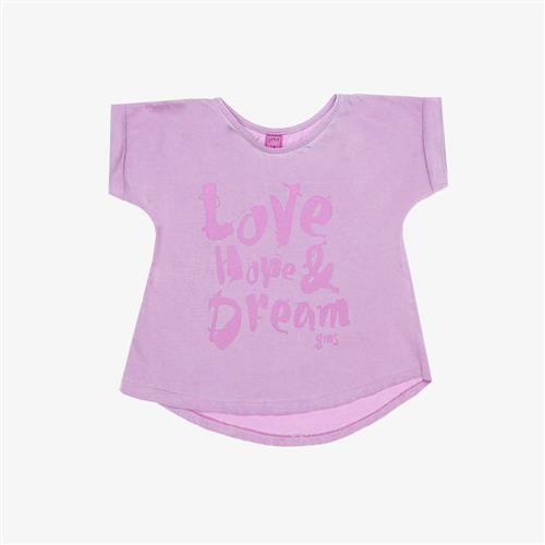 "Remera mini ""Love Dream"" - Rosa -"