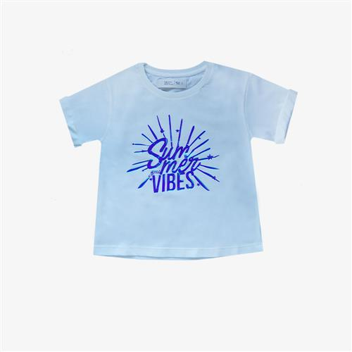 "Remera ""Summer Vibes"" -Crudo -"