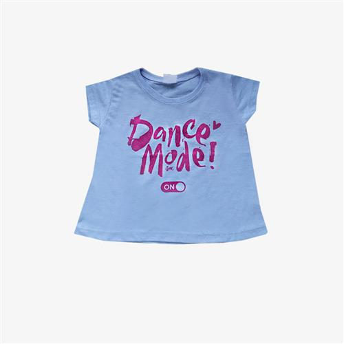 "Remera ""Dance mode"" - Lila-"