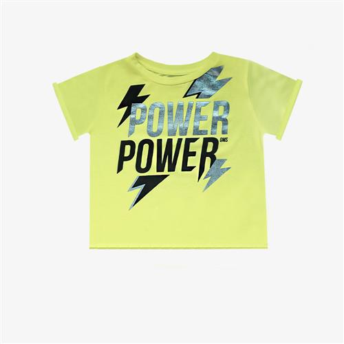 "Remera ""Power"" - Verde Fluo-"