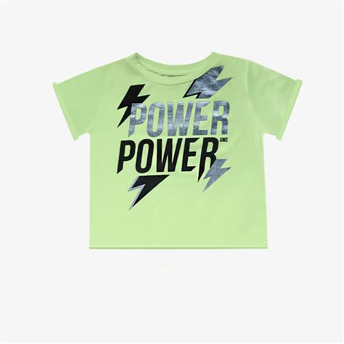 "Remera ""Power"" - Verde Manzana-"