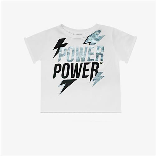 "Remera ""Power"" - Blanca-"