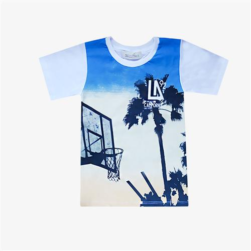 "Remera ""Los Angeles"" - Blanca -"