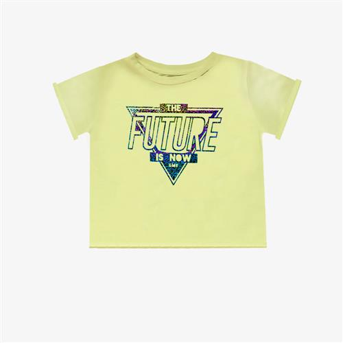 "Remera ""Fierce Future"" - Amarillo Patito -"