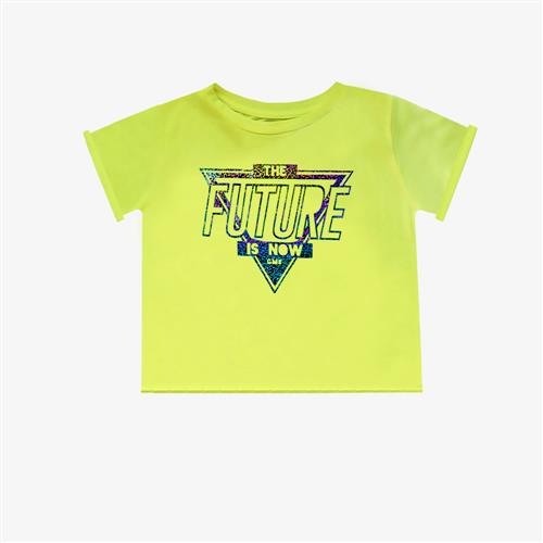 "Remera ""Fierce Future"" - Verde Fluo -"