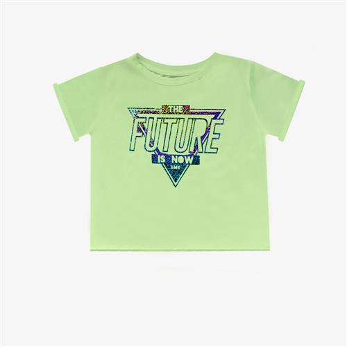 "Remera ""Fierce Future"" - Verde Manzana -"