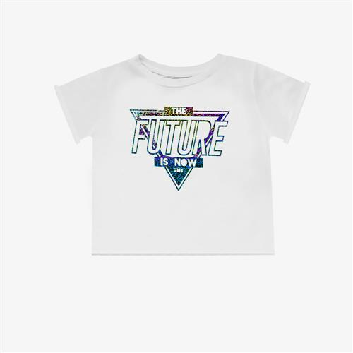 "Remera ""Fierce Future"" - Blanca -"