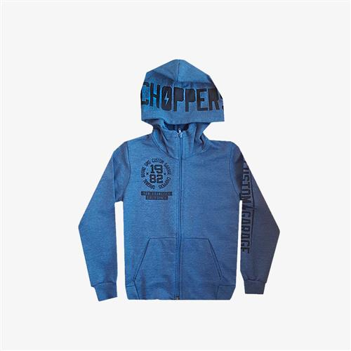 "Campera Rustica ""Choppers"" - Azul -"