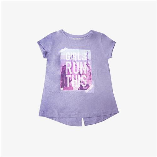 "Remera ""Girls Run"" - Lila -"