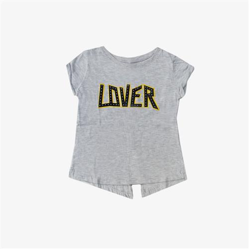 "Remera ""Lover"" - Gris -"