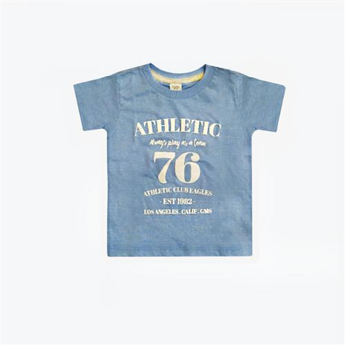 "Remera ""Athletic"" - Celeste -"