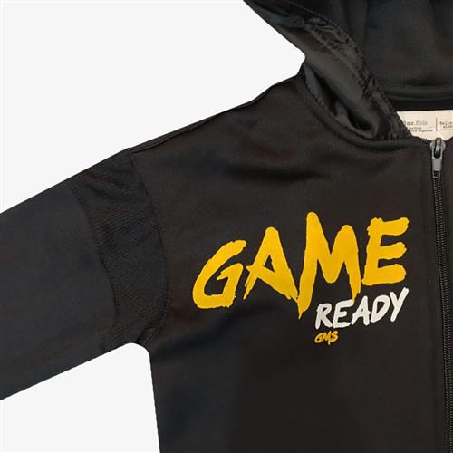 "Campera Deportiva ""Game"" - Negra -"
